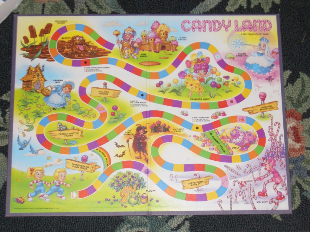 Mathematical Analysis of Candyland